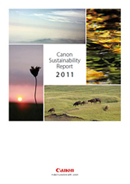 キヤノン Canon Sustainability Report 2011