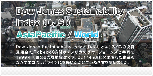 Dow Jones Sustainability Index (DJSI)2017
