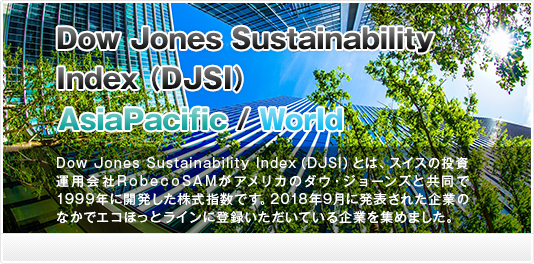 Dow Jones Sustainability AsiaPacific Index 2018 (DJSI)